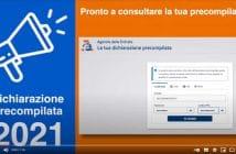 Dichiarazione Precompilata 2021, video guida Agenzia delle Entrate